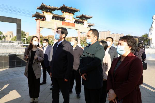 文化和旅游部副部长张旭考察野升博(亳州)中药城