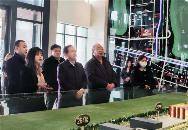 青海省文化和旅游厅副厅长才让太调研西宁野升博城